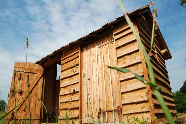 Yurt Outdoor Toilet