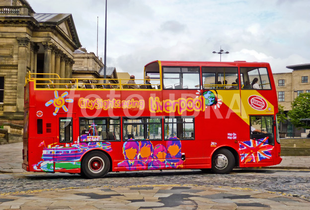 Liverpool Sightseeing Bus.