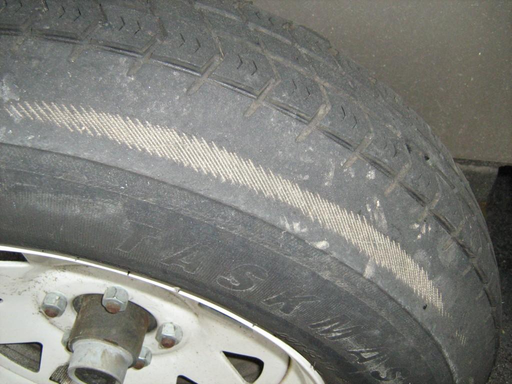 car tread