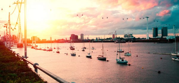 sunset-in-north-greenwich